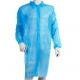 Fartuchy jednorazowe z włókniny na napy (10 szt., niebieskie)
