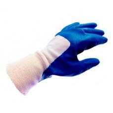 Rękawice wykrywalne nitrylowe, częściowo powlekane, roz. XL